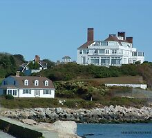 harkness / taylor swift's house in Watch hill Ri by Maureen Zaharie