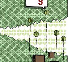 folhas e quadrados by Pablo Gabriel