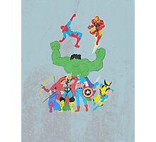 marvel superheroes Photographic Print
