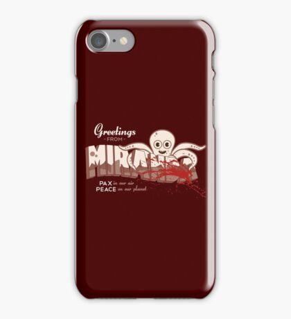 Greetings FromMiranda iPhone Case/Skin