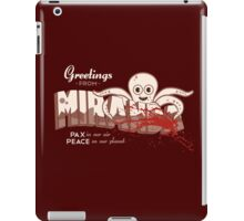 Greetings FromMiranda iPad Case/Skin