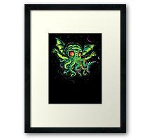 R'YLEH: NEVERDIE Framed Print