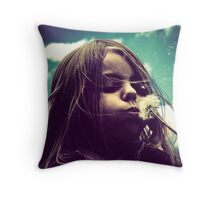 I Wish I may..I Wish I Might... Throw Pillow
