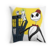 Bone Ties are cool Throw Pillow