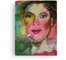 If You Just Smile Canvas Print