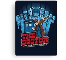 Doctor Pilgrim 10th Edition Canvas Print