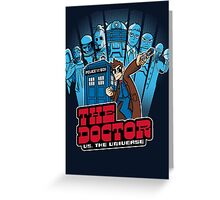 Doctor Pilgrim 10th Edition Greeting Card