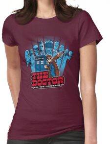 Doctor Pilgrim 10th Edition Womens Fitted T-Shirt