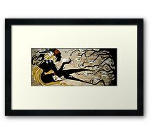 Drawing in the Spirits Framed Print