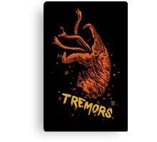 Tremors digital art print Canvas Print