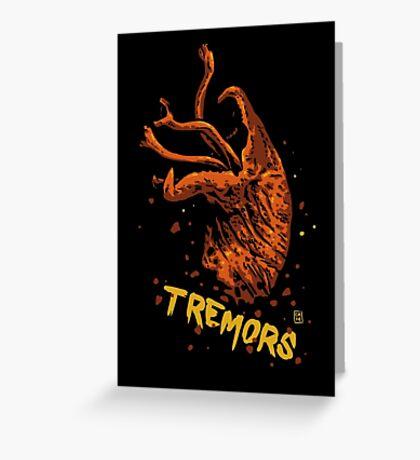 Tremors digital art print Greeting Card