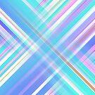 Purple Diagonal Streaks by Myron Watamaniuk