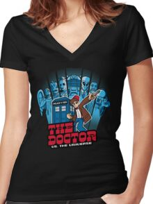Doctor Pilgrim 11th Edition Women's Fitted V-Neck T-Shirt