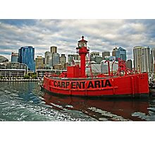 Carpentaria - Light Ship CLS4 in Retirement Photographic Print