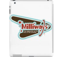 Milliways: the Restaurant at the End of the Universe iPad Case/Skin