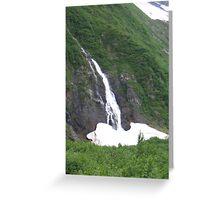 Whittier Waterfall Greeting Card