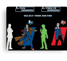 Select Your Doctor Canvas Print