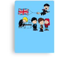 Brit Peanuts Canvas Print