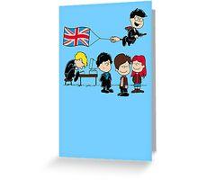 Brit Peanuts Greeting Card
