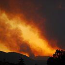 Mountain Fire by Carl Osbourn