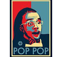 Pop Pop Photographic Print