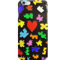 Puzzled Heart iPhone Case/Skin