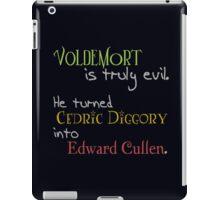 Cedric into Edward iPad Case/Skin