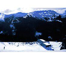 Epic snow scenery Photographic Print