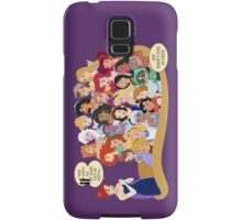 She Doesn't Even Go Here! Samsung Galaxy Case/Skin
