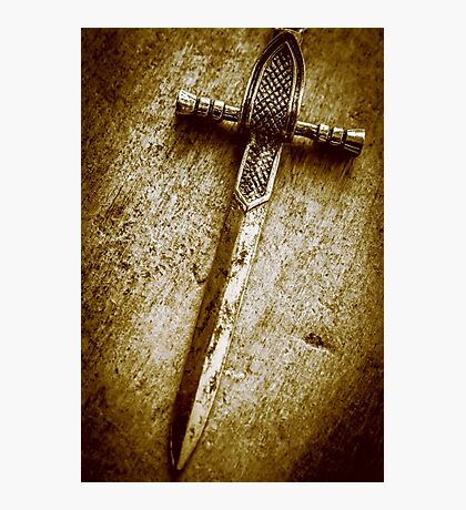Battle blades and knighthood Photographic Print