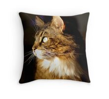 Catching the afternoon sun Throw Pillow
