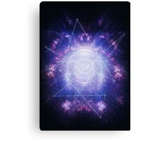Abstract colossal space Sign! Canvas Print