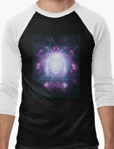 Abstract colossal space Sign! Men's Baseball ¾ T-Shirt