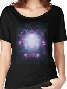 Abstract colossal space Sign! Women's Relaxed Fit T-Shirt