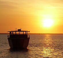 Japanese Fishing Boat, Darwin Coast by Michael Humphrys