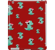 Christmas Dinosaur iPad Case/Skin