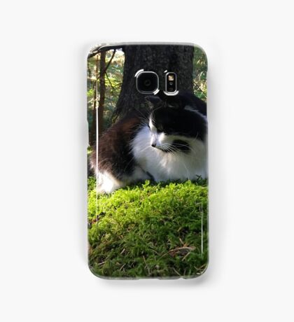 Elegant Forest Cat Samsung Galaxy Case/Skin