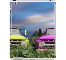 Colorful Trucks iPad Case/Skin