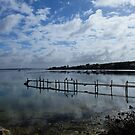 Oyster Beds in Coffin Bay SA by adbetron