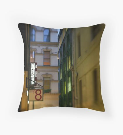 Manchester Lane Throw Pillow