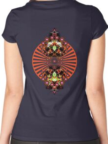 PSYCHEDELIC SHINE Women's Fitted Scoop T-Shirt