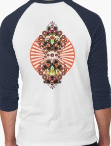 PSYCHEDELIC SHINE Men's Baseball ¾ T-Shirt