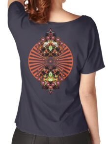 PSYCHEDELIC SHINE Women's Relaxed Fit T-Shirt