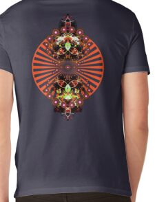 PSYCHEDELIC SHINE Mens V-Neck T-Shirt