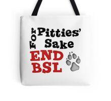 End-BSL-grey Tote Bag