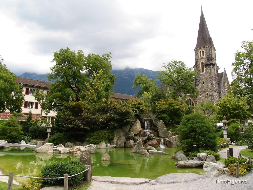 A Japanese Garden in Swizterland by TimoFyjames