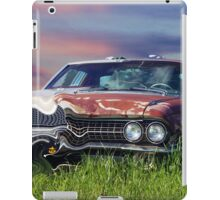Time Warp Car iPad Case/Skin
