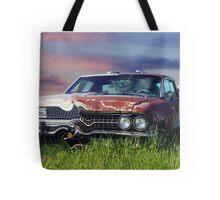 Time Warp Car Tote Bag