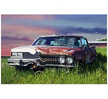 Time Warp Car Photographic Print