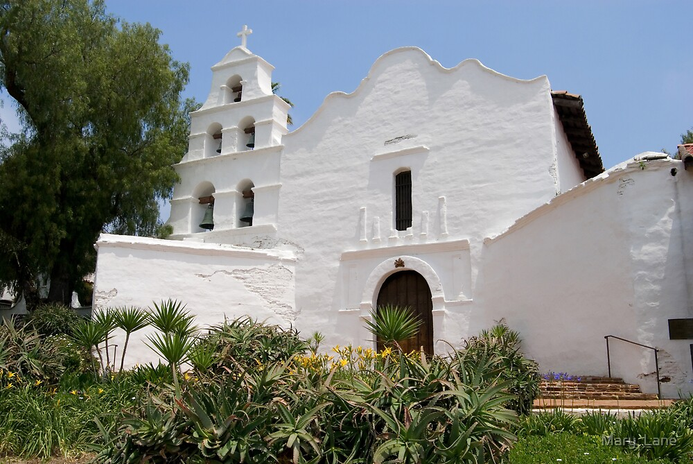 Mission San Diego by Mary  Lane